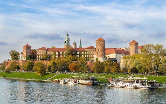 zamek nad Wisla w Krakowie- Wawel